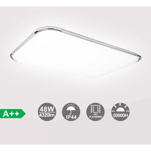 HENGDA Led Deckenleuchte Deckenlampe 48W Wohnzimmer Bad Lampen für