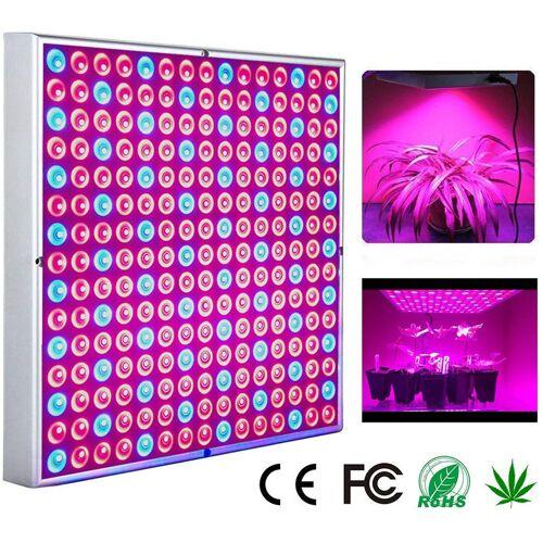 HENGDA LED Pflanzenlampe 15W Pflanzenleuchte fuer Gewaechshaus 225 LEDs Red