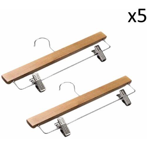 CASAME Hölzerne Zangenbügel - Menge von 10 - Casâme - Klares Holz - CASAME