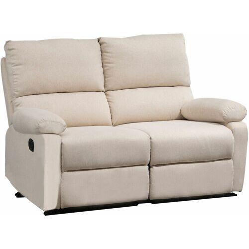 HOMCOM® Doppelsofa Relaxliege Relaxsessel verstellbare Rückenlehnen