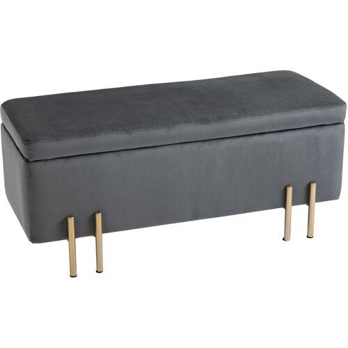HOMCOM® Hocker Eleganter Sitzhocker mit Stauraum Polsterhocker