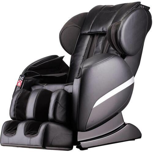 Home Deluxe - Massagesessel Siesta V2 - schwarz   Massagestuhl,