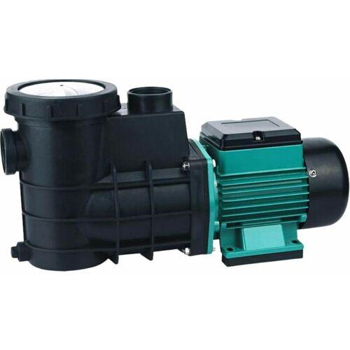 AQUARISTIKWELT24 HZS-300 Selbstsaugende Poolpumpe 300 Watt 8000 L/h Umwälzpumpe