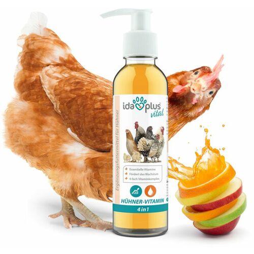 IDA PLUS – Hühner-Vitamin 4in1 200 ml – Vitaminkonzentrat mit Vitamin ADEC für