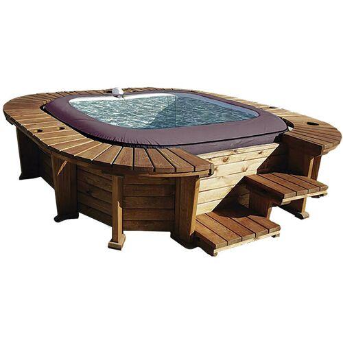 Bestway - Hölzerner Whirlpool K2O Royal Beach Für 5-7 Personen