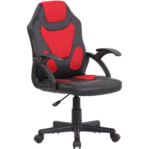 CLP Kinder Bürostuhl Dano-schwarz/rot