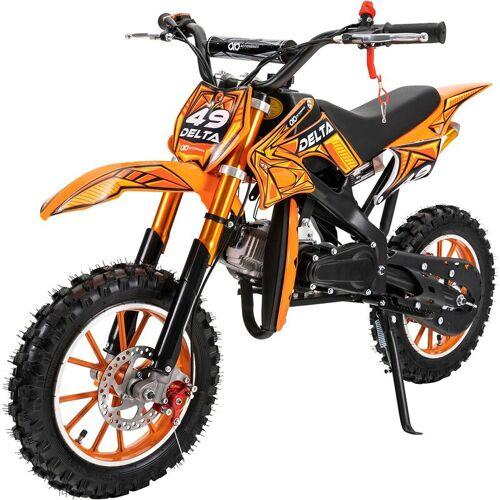 ACTIONBIKES MOTORS Kinder Mini Enduro Crossbike DELTA 49cc 2 Takt Motorcrossbike
