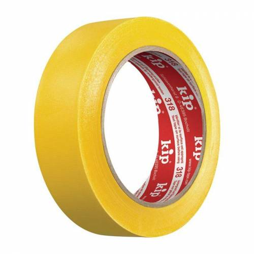 KIP PVC Schutzband 318 gelb L.33m B.50mm Rl.KIP