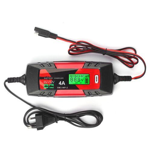 Kkmoon P2 Autobatterie-Ladegerat Kleiner Bildschirm Eu