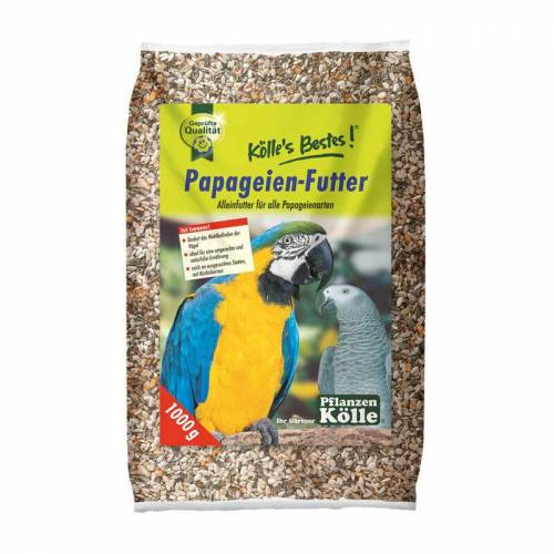 KÖLLE 's Beste Papageien-Futter, 1000 g - Kölle
