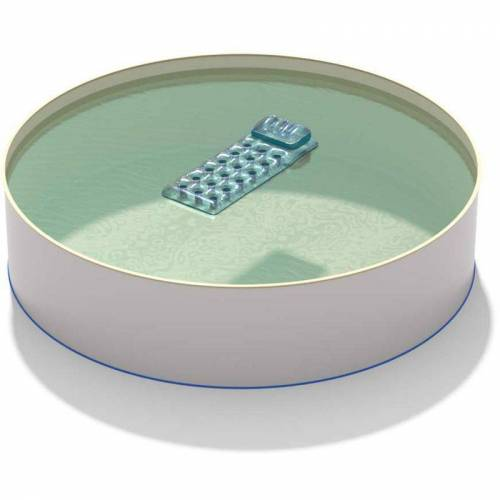 HOBBY POOL Pool Ø 4,00 x 1,35 m Folie sand 0,8mm EB, Stahl 0,7mm - HOBBY POOL