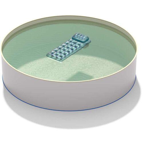 Hobby Pool - Pool Ø 6,00 x 1,20 m Folie sand 0,8mm EB, Stahl 0,6mm