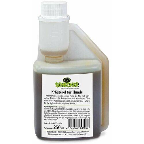 SCHECKER Kräuteröl für Hunde, 250ml