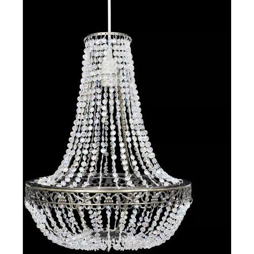 ZQYRLAR Kristall Anhänger Kronlampe 36,5 x 46 cm