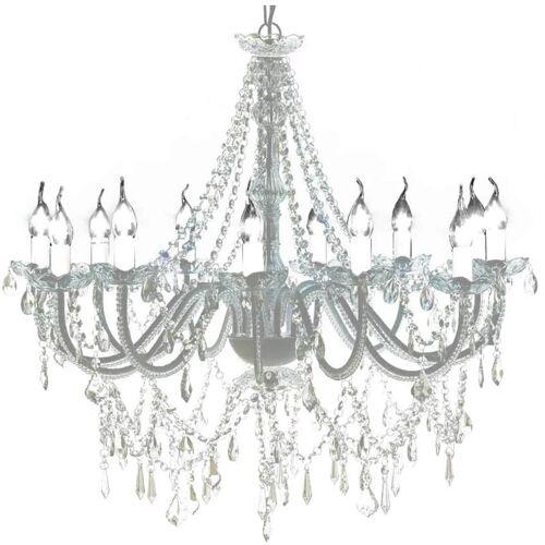 Hommoo - Kristall Kronleuchter mit 1600 echten Glas Kristallen DDH30889