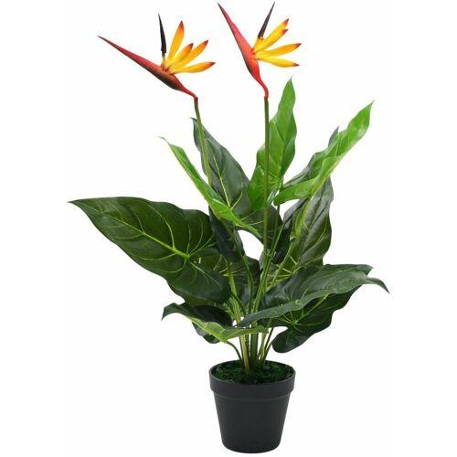 Zqyrlar - Künstliche Strelitzia Reginae Paradiesvogelblume 66 cm