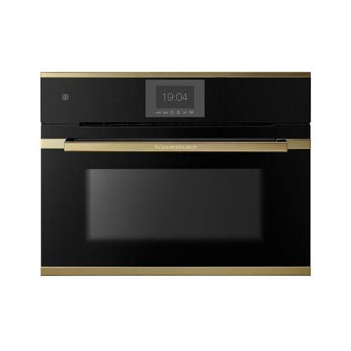 KÜPPERSBUSCH CBP6550.0S4 Kompakt-Pyro-Backofen schwarz mit Design-Kit Gold, 60 cm