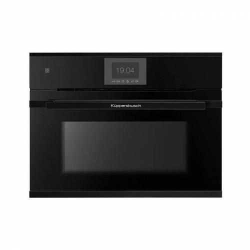 KÜPPERSBUSCH CBP6550.0S5 Kompakt-Pyro-Backofen schwarz mit Design-Kit Black Velvet,