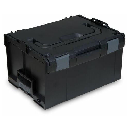 Bosch L-BOXX   Sortimo LB 238 SCHWARZ / Leer-Koffer   Innenmaße 378 x 303 x