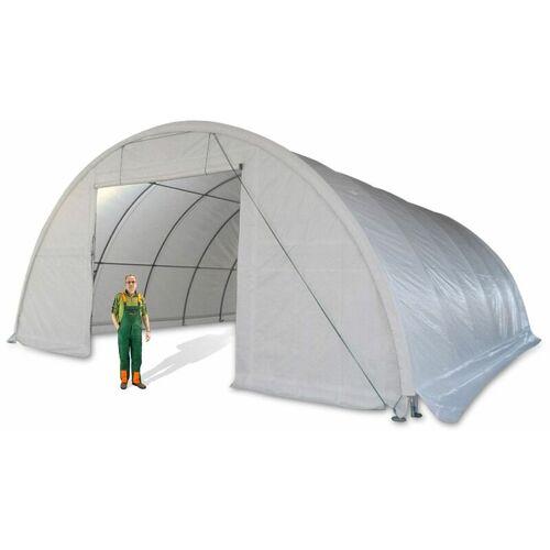 DEMA Lagerzelt 12x9,15 m Materialzelt Zeltgarage mobile Lagerhalle Weidezelt