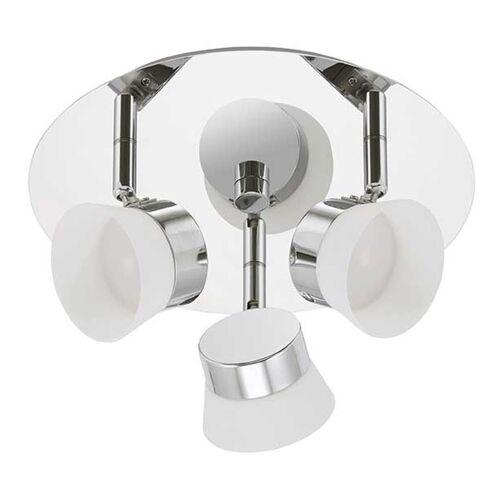 BRILONER LED Deckenleuchte 3er Spot Surf 2209-038 Badezimmerlampe - Briloner