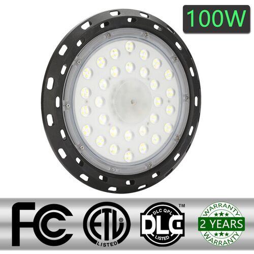 WIS 100W LED UFO Industrielampe 6000-6500K Hallenstrahler led