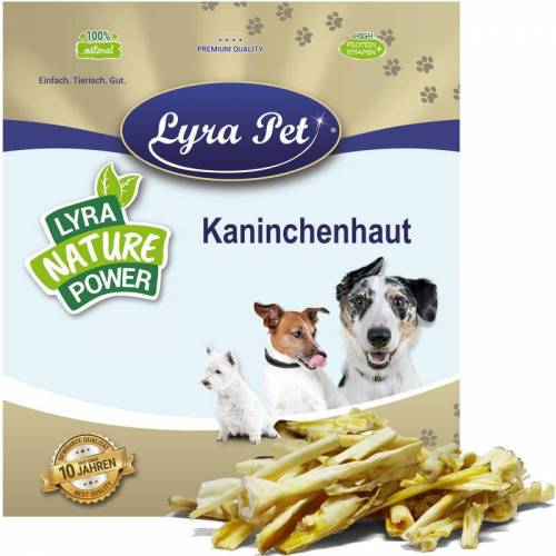 LYRA PET 10 kg Kaninchenhaut - Lyra Pet