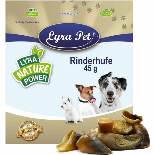 LYRA PET 200 Stk. ® Rinderhufe ca. 9 kg - Lyra Pet