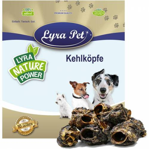LYRA PET 1 kg ® Rinderkehlköpfe - Lyra Pet