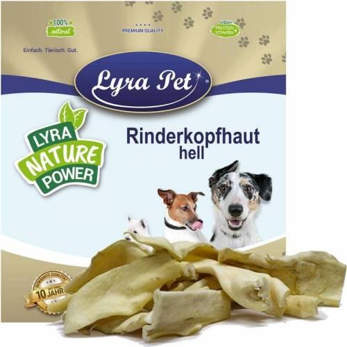 LYRA PET 20 kg ® Rinderkopfhaut hellbraun, hell - Lyra Pet