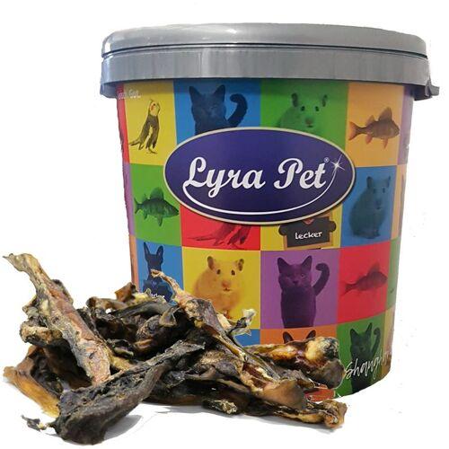 LYRA PET 5 kg ® Rinderlefzen in 30 L Tonne - Lyra Pet