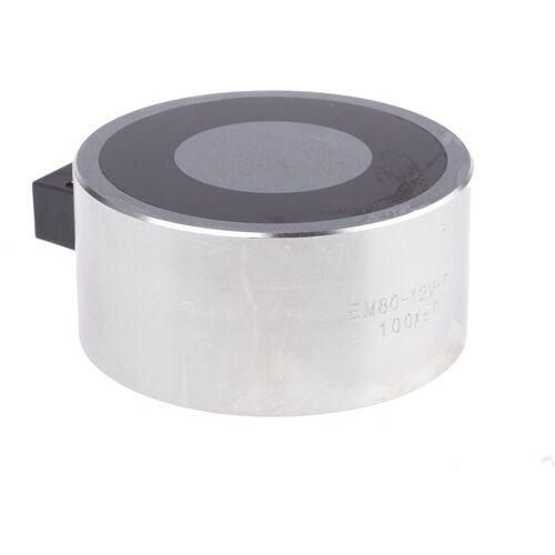 RS PRO Türmagnet Zutrittskontrolle, 2000N, 12V dc, ø 80mm - Rs Pro