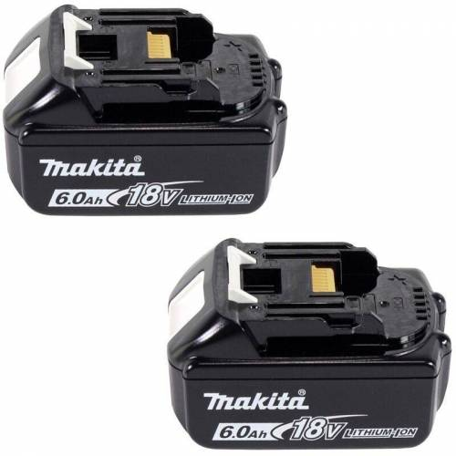 Makita DLM 382 G2 Akku Rasenmäher 36 V ( 2x 18 V ) 38 cm 40 l + 2x Akku