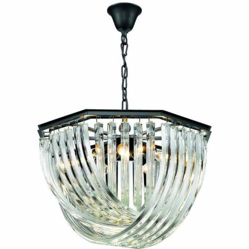 17-SPRING LIGHTING MANCHESTER Kristallleuchter 5 Lichter