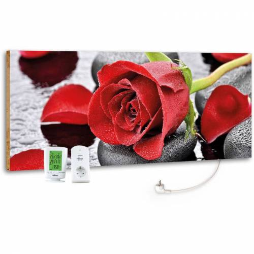 Marmony - M800 PLUS 800 Watt Infrarotheizung 'Red Rose' inkl. MTC-40