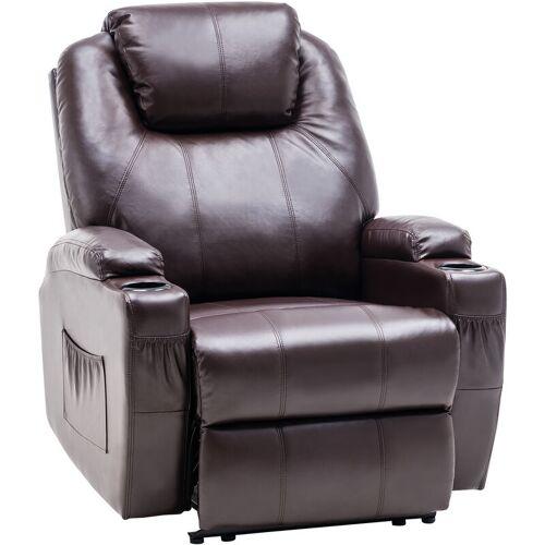 MCOMBO Elektrisch Relaxsessel Massagesessel Fernsehsessel Heizung 7061 DB