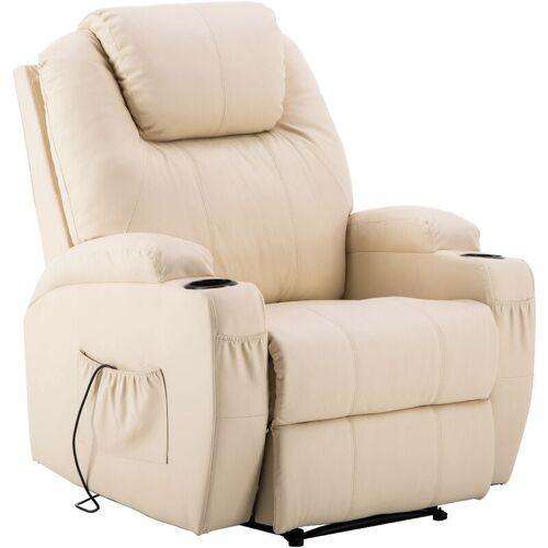 MCOMBO Elektrisch Relaxsessel Massagesessel Fernsehsessel Heizung