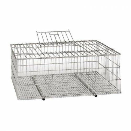 Suinga - Metallkäfig für den Transport von Vögeln 73x52x30 cm