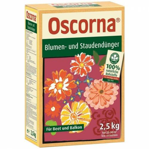 OSCORNA Blumen- und Staudendünger 2,5 kg - Oscorna
