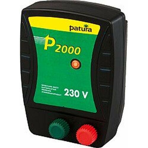 PATURA P2000, Weidezaun-Gerät für 230 V Netzanschluss, 1,1 Joule - Patura