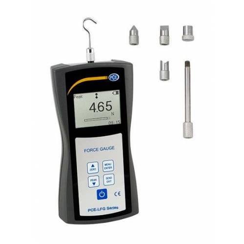 PCE INSTRUMENTS Digitaler Kraftmesser PCE-LFG 5 für Zugkraftmessung und
