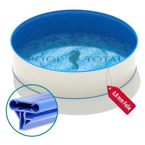 Hobby Pool - Pool Ø 5,00 x 1,20 m Folie blau 0,8mm EB Handlauf STYLE