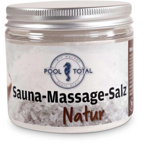 POOL TOTAL Sauna Massage Salz Natur 200g - Pool Total