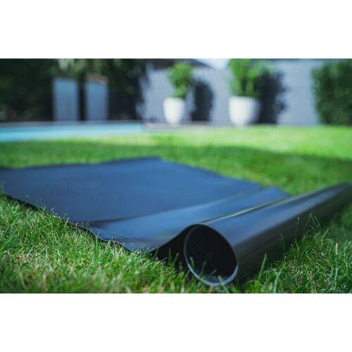SIKA PVC Teichfolie schwarz in einer Stärke von 1.00 mm, Maß: 10 x 9 m.