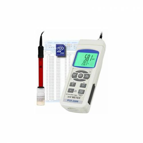 Pce Instruments - REDOX-Messgerät PCE-228-R inkl. Redox-Elektrode (ORP)