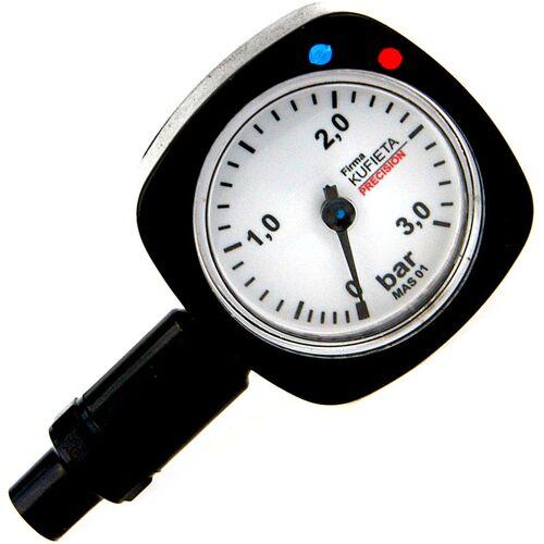 TOYA Reifendruckprüfer Luftdruckprüfer Metall 0,5 - 3,0 bar