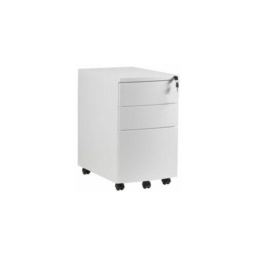 CERTEO Rollcontainer Leon   HxBxT 640 x 390 x 560 mm   Weiß rollcontainer