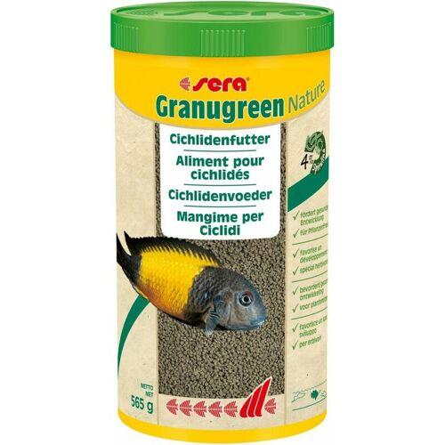 sera Granugreen Nature 1000ml Granulat Cichliden Aquarium