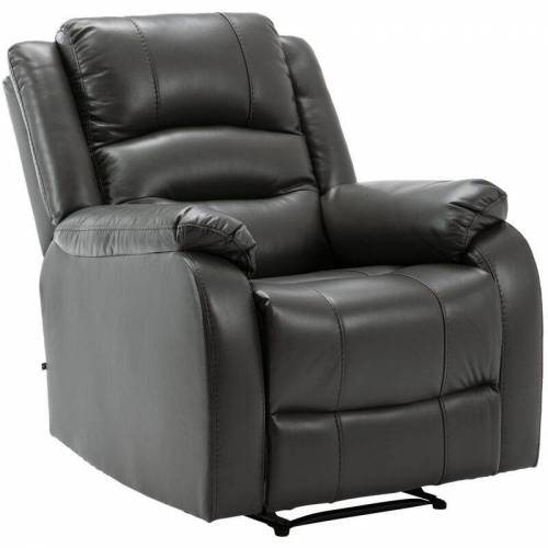 CLP - Sessel Kerpen-grau-Kunstleder