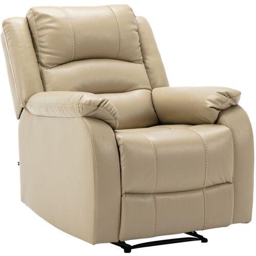 CLP - Sessel Kerpen-creme-Kunstleder